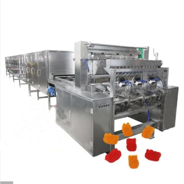 Full automatic big Capacity Gummy Candy Making Machine Jelly Candy Maker Production Line