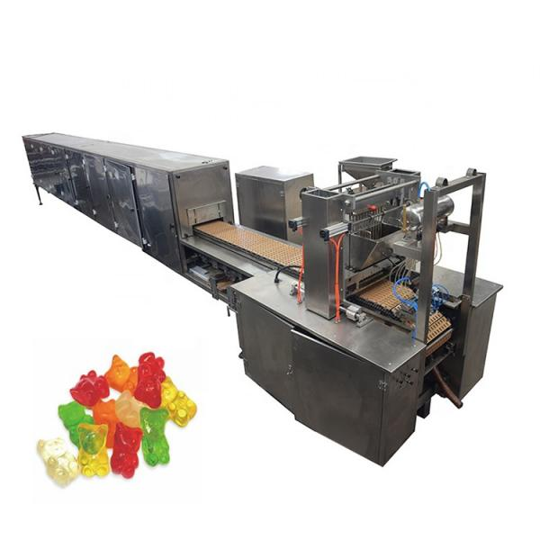 Small Capacity Sweet Making Machine Depositing Lollipop Molding Machine Gummy Bear Production Line Processing Line in Shanghai