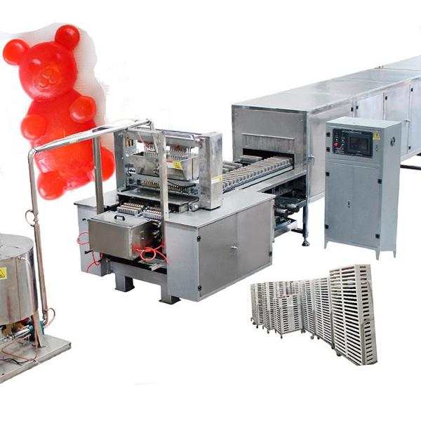 Automatic Gummy Jelly Candy Making Machine Vitamin Bear making Line Gummy Candy Depositing Machinery